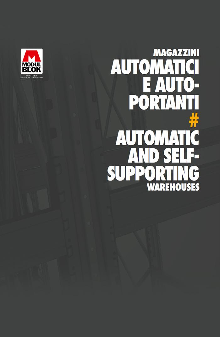 Cover Brochure Modulblok Magazzini Automatici e auto-portanti