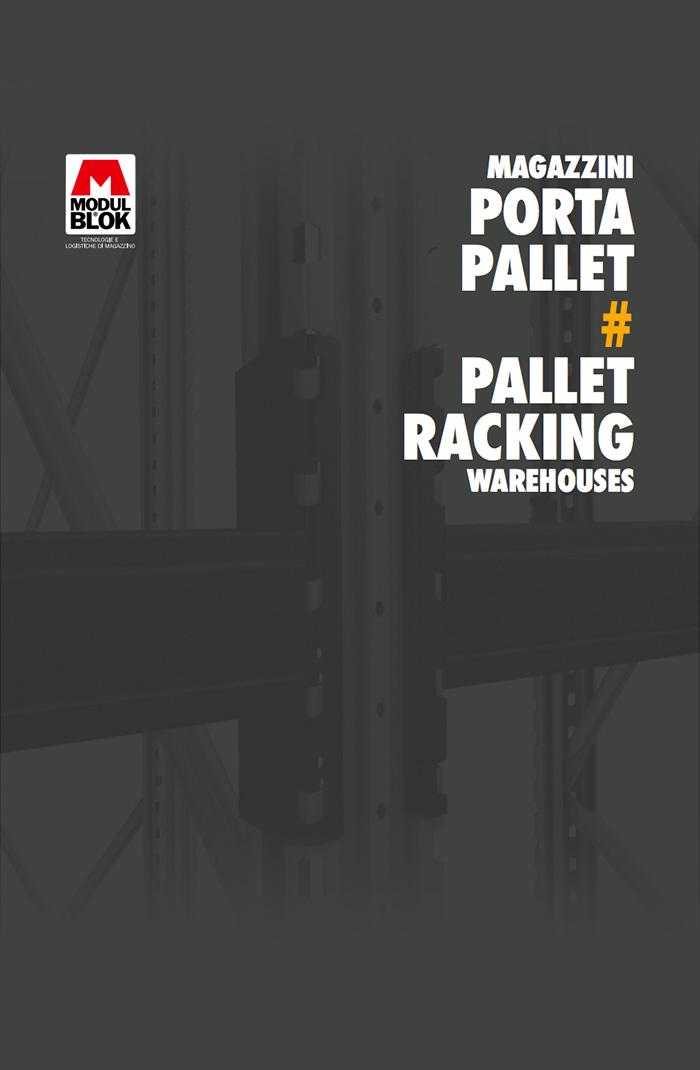 Cover Brochure Modulblok Magazzini portapallet