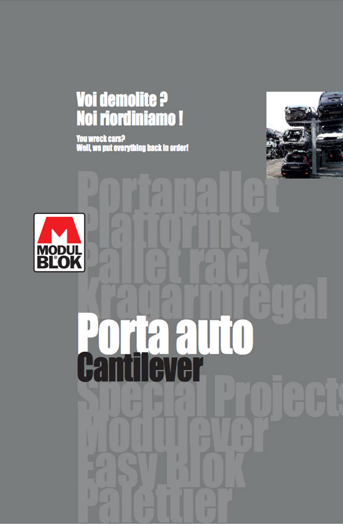 Modulblok brochure Porta Auto